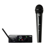 AKG WMS40 Mini System Handheld Wireless Mic Band A
