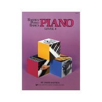 Bastien Piano Basics: Level 1 Lesson Book