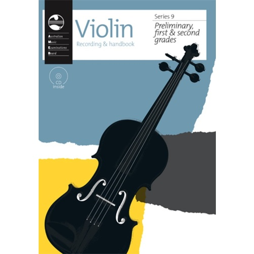 Violin AMEB Recording & handbook for Preliminary, first and second grades - Series 9
