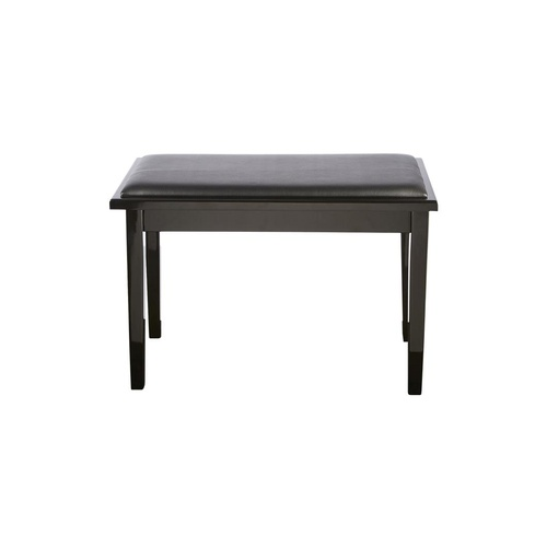 BEALE Piano Bench with Storage - Black - BPB110