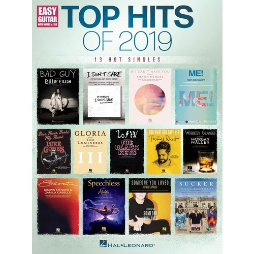Top Hits of 2019 - Easy Guitar
