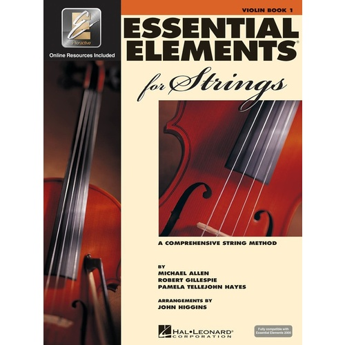 Essential Elements for Strings - Book 1 - Violin