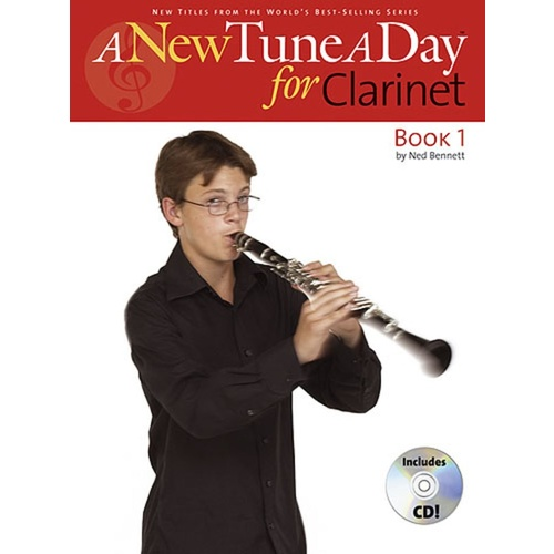 A New Tune a Day - Clarinet BK/CD