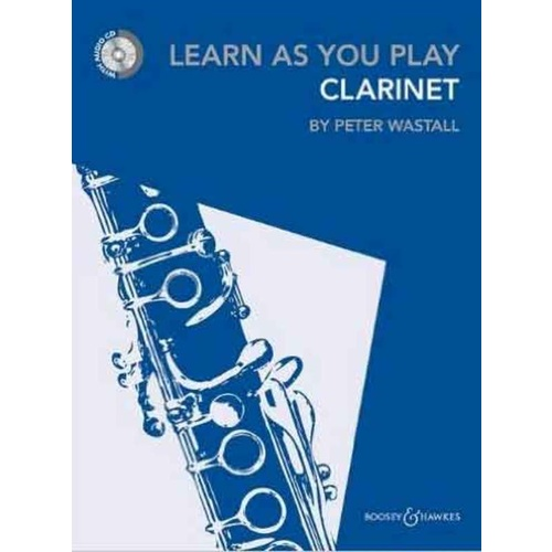 Learn As You Play Clarinet - Peter Wastall - BK/CD